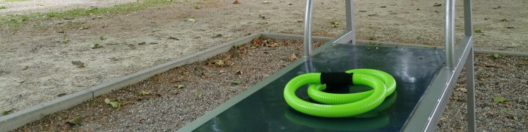 Bild vom Fitnessgeraet mit smoveys im Huthpark