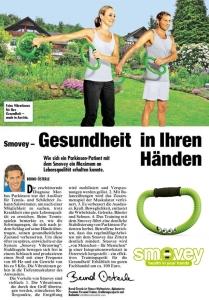 Arikel aus der Krone (österreichisches Magazin) im Aug. 2013